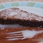 Torta Caprese – Chocolate Brownie Cake