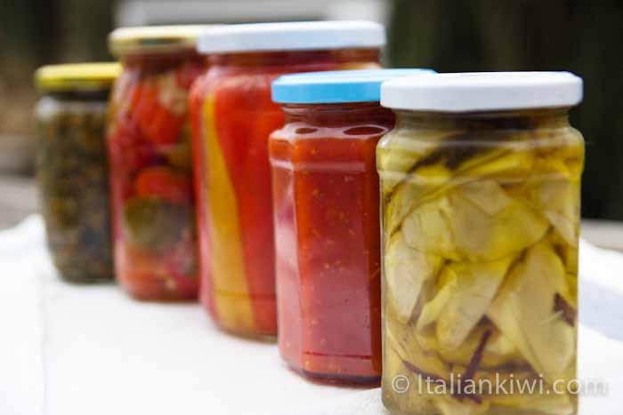 Italian preserves
