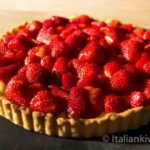 Strawberry Tart with Italian Crema