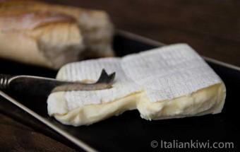 Creamy Robiola Bosina from Piemonte, Italy.