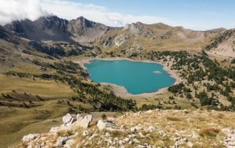 Allos Lake, Hautes-Alpes, France