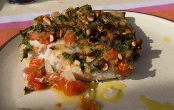 Messina Straits swordfish with tomatoes and onions