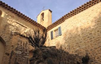 Notre Dame de Brusc Abbey ruins, Opio, Cote d'Azur