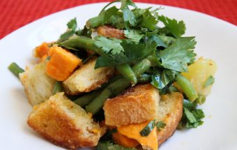 Potato and Green Bean Salad Ingredients
