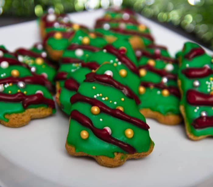 Xmas Tree Cookies Italian Kiwi